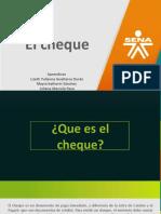 EXPOSICION CONTABILIDAD EL CHEQUE