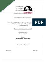Estudio de factbilidad técnica y económica de una planta de pirólisis para la valorización energética de RSU en CDMX