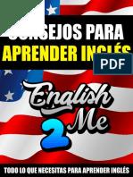 Libro Consejos Para Aprender Inglés Por English2Me