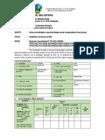 Informe de Trabajo Remoto Mes de Junio DBS