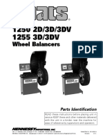 Balanceador 1250, 1255, 2D, 3D, 3DV Despiece PL