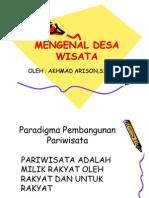 MENGENAL DESA WISATA