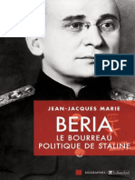 Beria _ Le bourreau politique d - Marie,Jean-Jacques