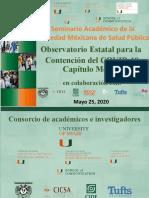 Observatorio Estatal para la  Contención del COVID-19 Capítulo México