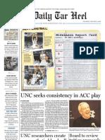 The Daily Tar Heel for January 13, 2011