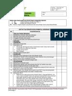 DAFTAR TILIK DENVER DEVELOPMENTAL SCREENING TEST (DDST). revisi
