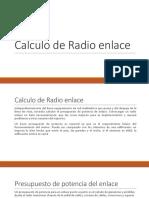 Calculo de Radio enlace