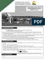Caderno de Provas - Seriado Etapa 2 -Vestibular 2019 (1)
