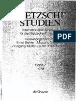 NS 7 - I-XVIII - Teitelein - Inhaltsverzeichnis