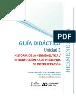GDU2-HE - HISTORIA Y PRINCIPIOS DE LA HERMENEUTICA (1)