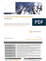 Thomson Reuters Global Investment Banking Fees Review 4Q 2010