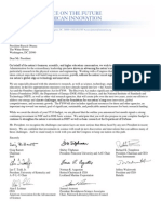 Innovation Task Force Letter to President Obama - FINAL