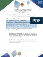 Guía de actividades y rúbrica de evaluación - Unidad 1 -Tarea 1 - Fundamentos de Seguridad y Salud en el Trabajo.pdf