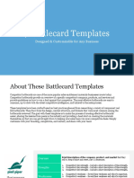 Battlecard Template