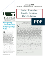 GBA Newsletter - Jan