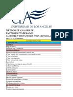 METODO DE FACTORES PONDERADOS-1