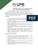 DIPLOMADO EN INGENIERÍA, SIMULACION Y OPTIMIZACION DE PROCESOS EN LA INDUSTRIA DE HIDROCARBUROS.docx