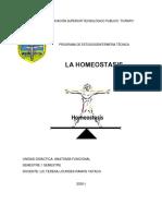 HOMEOSTASIS-I SEMESTRE