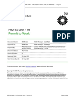 BP permit-to-work
