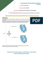 [May-2020]New Braindump2go AZ-300 PDF Dumps and AZ-300 VCE Dumps(215-220)