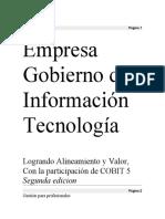Empresa Gobierno de la Tecnología