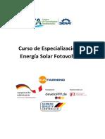 Curso Energía Solar Fotovoltaica- CTA - SUNFARMING