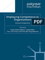 Displaying Competence in Organizations Discourse Perspectives by Katja Pelsmaekers, Craig Rollo, Tom Van Hout, Priscilla Heynderickx (eds.) (z-lib.org)