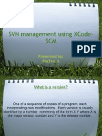 SVN Management Using XCode SCM