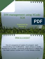 SVN Management Using XCode SCM