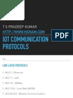 iot communication protocols