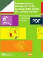 Vacunas vph