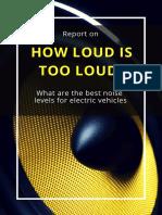 Howloud is to loud