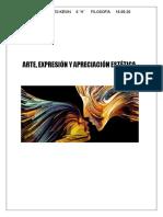 Arte, Expresión y Apreciación Estética.docx