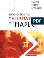 Adams, Smith, Vyborny. Introduction to Mathematics with Maple (WS, 2004)(544s) - Copy.pdf