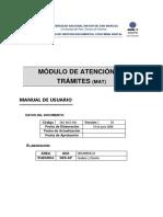 Manual de Usuario - MAT v1.0