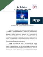04 La Quimica, la catalisis y la vida