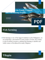 FISH Planning for the Family's Animal and Fish Raising Project 3