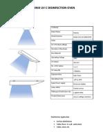 TDS Halonix UV -C Portable senetizer