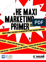 MAXI Marketing Primer 2015