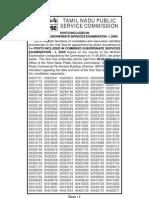 Tnpc Examination Results