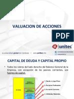 1.3 Valuación de Acciones