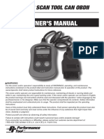 DIAGNOSTIC SCAN TOOL CAN OBDII