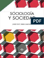 Pico Josep Y Sanchis Enric - Sociologia Y Sociedad