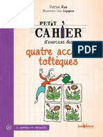 Petit cahier d'exercices des quatre accords toltèques (French Edition).pdf