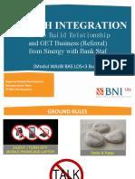 BRANCH INTEGRATION FOR BAS LANDING 2017