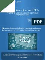 interactive quiz in ICT 6