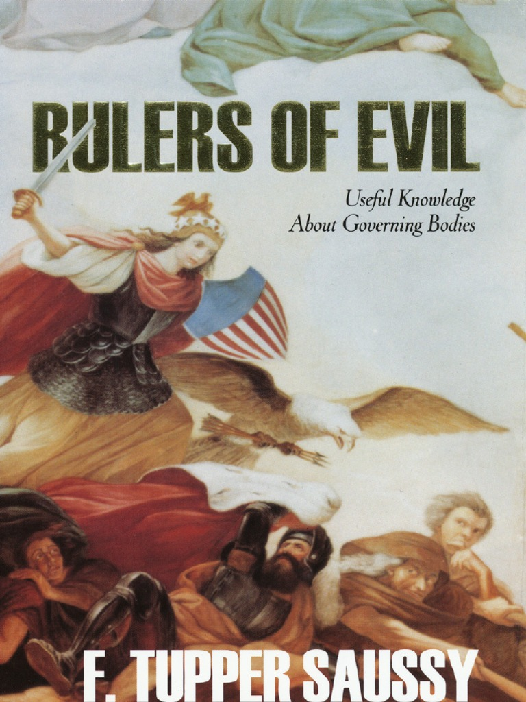 Tupper Saussy Rulers of Evil | Religion And Belief