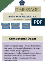 SHORT MESSAGE.pptx
