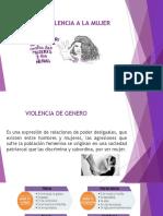 NO MAS VIOLENCIA A LA MUJER.odp