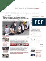 Ministério Público do Trabalho apura se patrões forçaram funcionários a protestar por reabertura de comércio na Paraíba